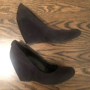 Call It Spring Black Wedge Size 9 - Worn Once